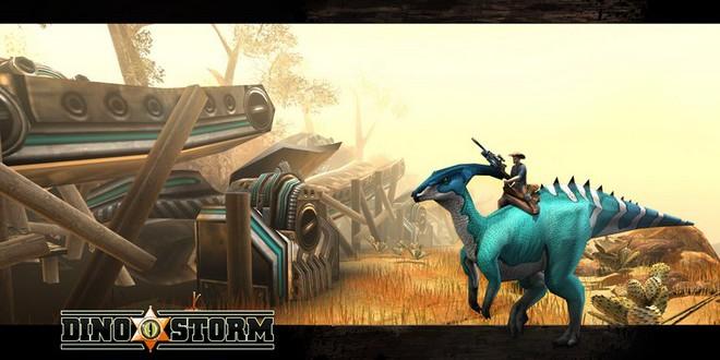 Dino Storm – Cowboys und Dinosaurier