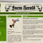 Aktuelle Ausgabe der Farmerama-Zeitung