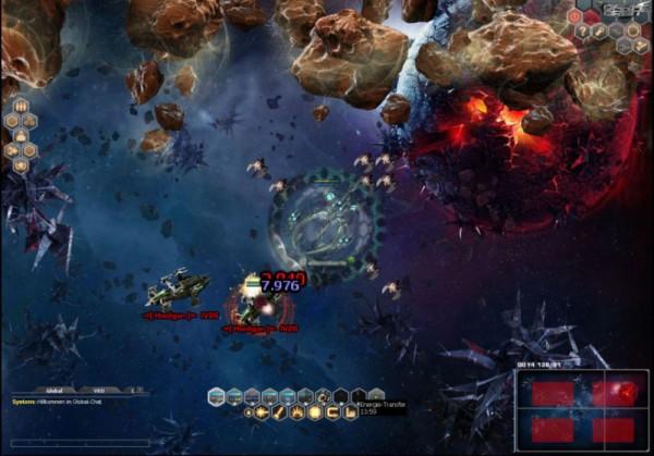 Weltraum Online Spiel